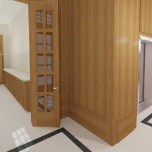 Condo-elevator-lobby-mail-room-commercial-interior-design-chicago